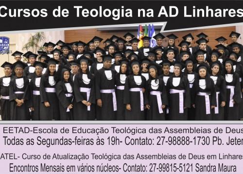 banner cursos de teologia